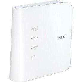 NEC Wi-Fiホームルーター Aterm ホワイト PA-WF1200CR [PAWF1200CR]【RNH】