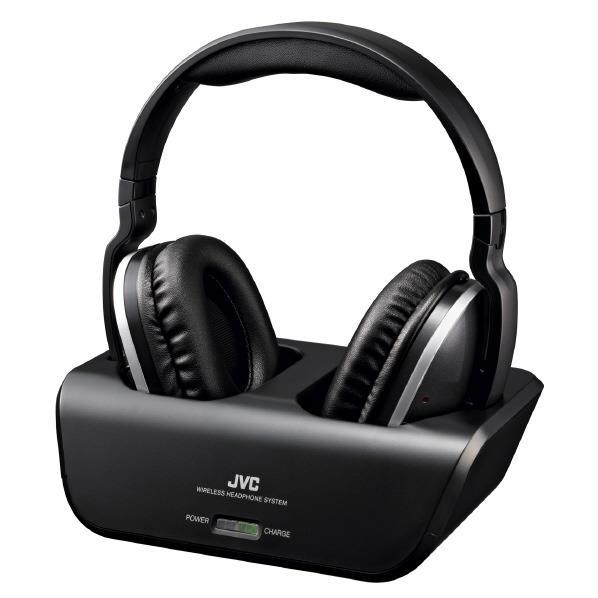 【送料無料】JVCケンウッド ワイヤレスヘッドホンシステム HA-WD100B [HAWD100B]【RNH】