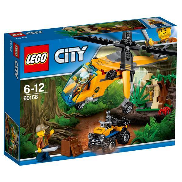 レゴジャパン LEGO シティ 60158 ジャングル探検ヘリコプター 60158ジヤングルタンケンヘリコプタ- [60158ジヤングルタンケンヘリコプタ-]