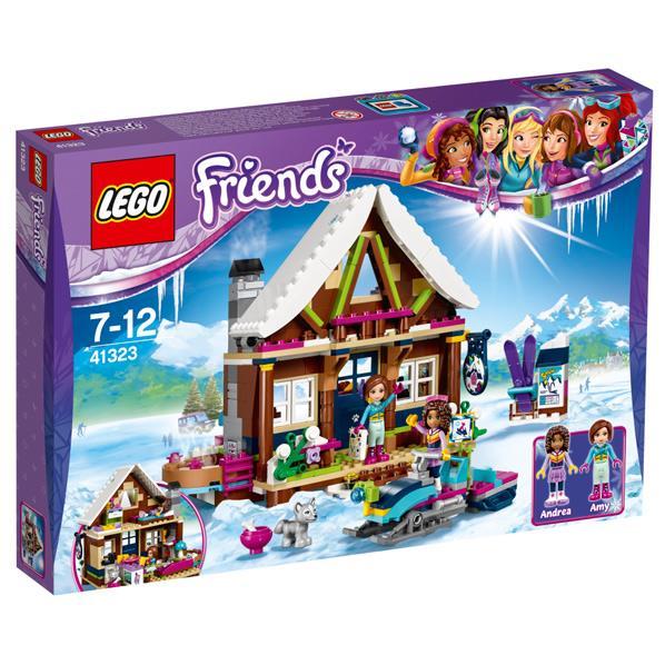 """レゴジャパン LEGO フレンズ 41323 スキーリゾート""""スノーロッジ """" 41323スキ-リゾ-トスノ-ロツジ [41323スキ-リゾ-トスノ-ロツジ]"""