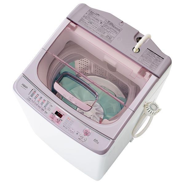 【送料無料】AQUA 10.0kg全自動洗濯機 ツインウォッシュ ホワイト AQW-VW1000F(W) [AQWVW1000FW]【RNH】