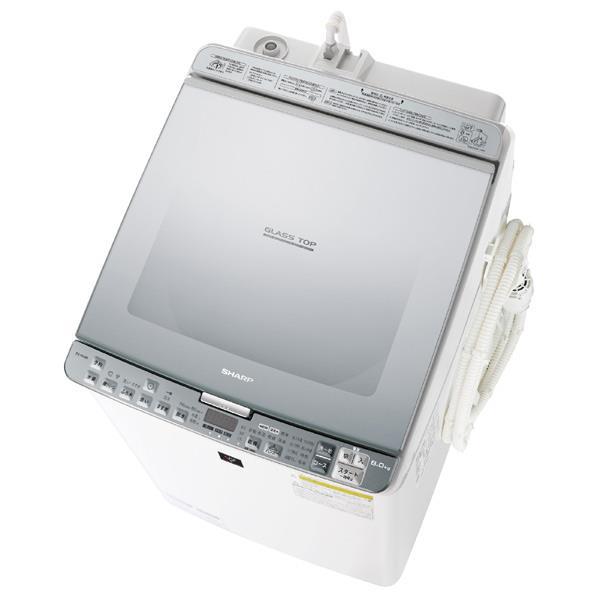 【送料無料】シャープ 8.0kg洗濯乾燥機 シルバー系 ESPX8BS [ESPX8BS]【RNH】
