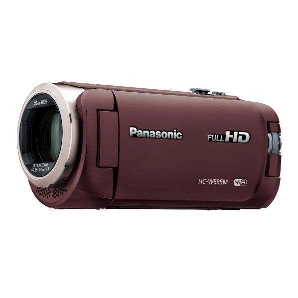【送料無料】パナソニック 64GB内蔵メモリー デジタルハイビジョンビデオカメラ ブラウン HC-W585M-T [HCW585MT]【RNH】