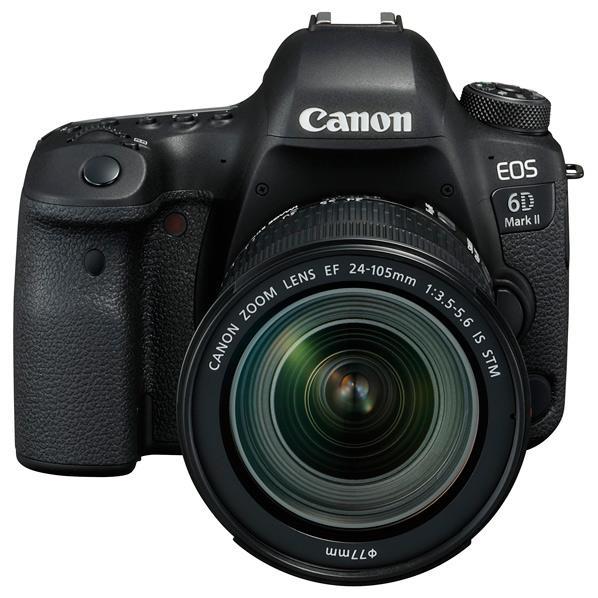 キヤノン デジタル一眼レフカメラ・24-105 IS STM レンズキット EOS 6D Mark II EOS6DMK224105ISSTMLK [EOS6DMK224105ISSTMLK]【RNH】