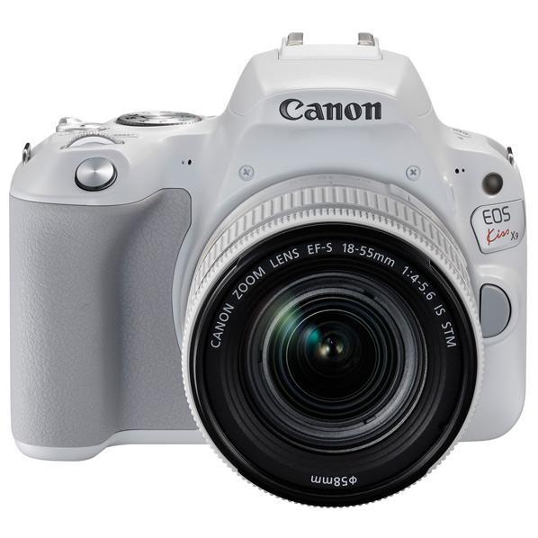 【送料無料】キヤノン デジタル一眼レフカメラ・EF-S18-55 IS STM レンズキット EOS Kiss X9 ホワイト EOSKISSX9WH1855F4ISSTMLK [KISSX9WH1855F4ISSTMLK]【RNH】