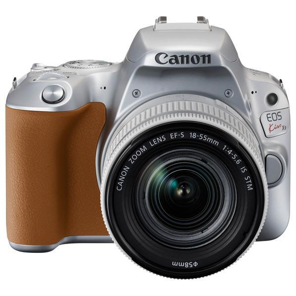 【送料無料】キヤノン デジタル一眼レフカメラ・EF-S18-55 IS STM レンズキット EOS Kiss X9 シルバー EOSKISSX9SL1855F4ISSTMLK [KISSX9SL1855F4ISSTMLK]【RNH】