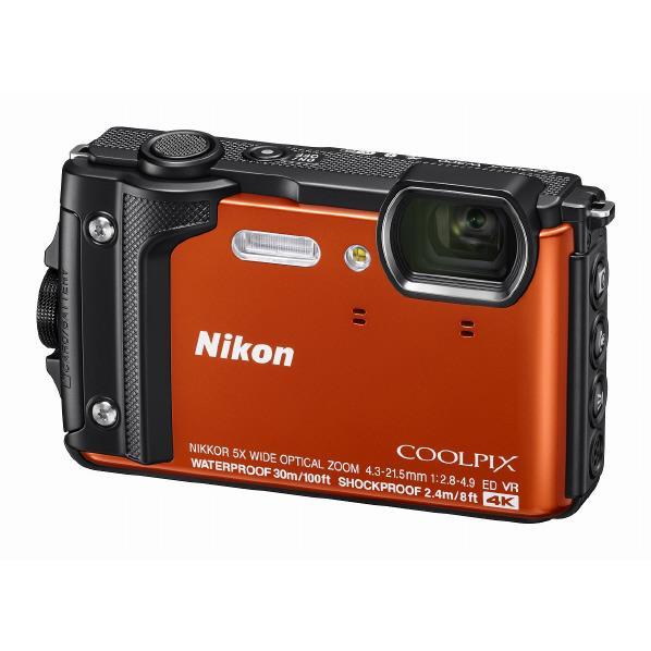 ニコン デジタルカメラ COOLPIX W300 オレンジ COOLPIXW300OR [COOLPIXW300OR]【RNH】