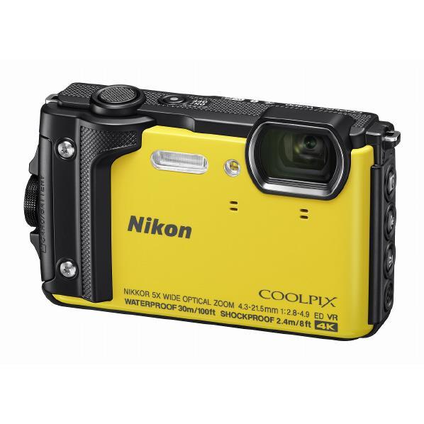ニコン デジタルカメラ COOLPIX W300 イエロー COOLPIXW300YW [COOLPIXW300YW]【RNH】