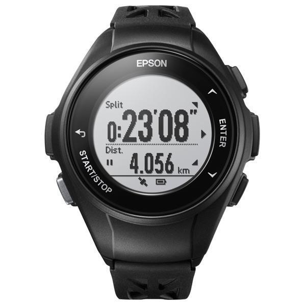 エプソン GPSランニングウォッチ WristableGPS ブラック Q10-B [Q10B]