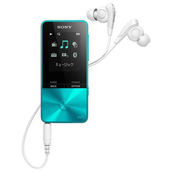 【送料無料】SONY デジタルオーディオプレイヤー(4GB) ウォークマンSシリーズ ブルー NW-S313 L [NWS313L]【RNH】【ESLG】