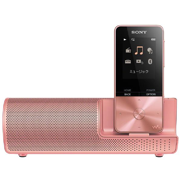 【送料無料】SONY デジタルオーディオプレイヤー(4GB) スピーカー付属 ウォークマンSシリーズ ライトピンク NW-S313K PI [NWS313KPI]【RNH】【RKAN】