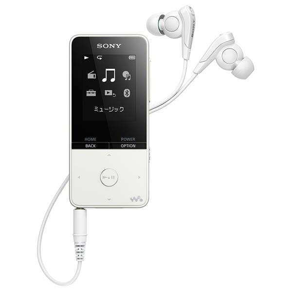 【送料無料】SONY デジタルオーディオプレイヤー(16GB) ウォークマンSシリーズ ホワイト NW-S315 W [NWS315W]【RNH】