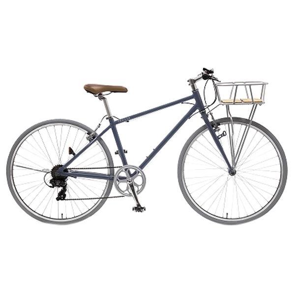 【送料無料】阪和 700Cアルミクロスバイク 6段変速 TRAILER Fritz ダークグレー TR-C7004-DG [TRC7004DG]