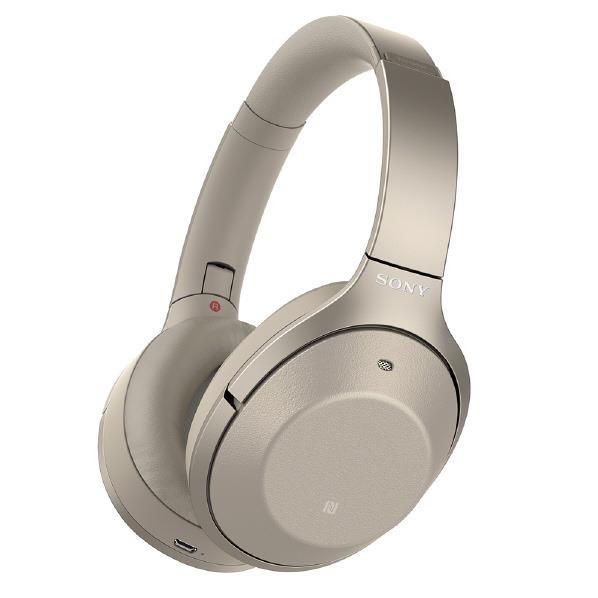 【送料無料】SONY ワイヤレスノイズキャンセリングステレオヘッドセット シャンパンゴールド WH-1000XM2N [WH1000XM2N]【RNH】
