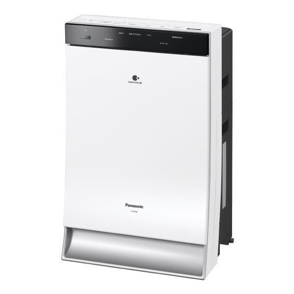 【送料無料】パナソニック 加湿空気清浄機 ホワイト F-VXP90-W [FVXP90W]【RNH】