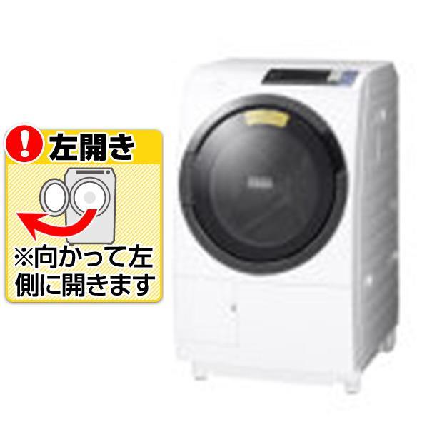 【送料無料】日立 【左開き】10.0kgドラム式洗濯乾燥機 ビッグドラム ホワイト BD-SG100BL W [BDSG100BLW]【RNH】