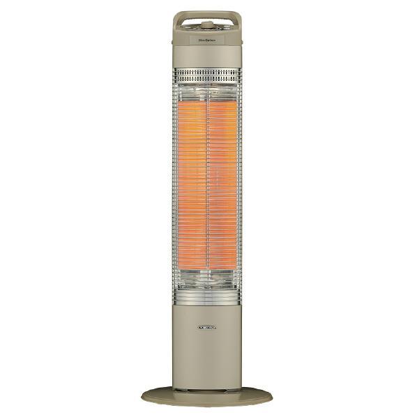 【送料無料】コロナ 遠赤外線電気ストーブ スリムカーボン ゴールド DH-C917(N) [DHC917N]【RNH】