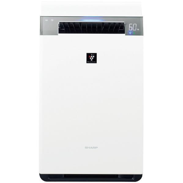 【送料無料】シャープ 加湿空気清浄機 KuaL プラズマクラスター ホワイト KIX75E5W [KIX75E5W]【RNH】