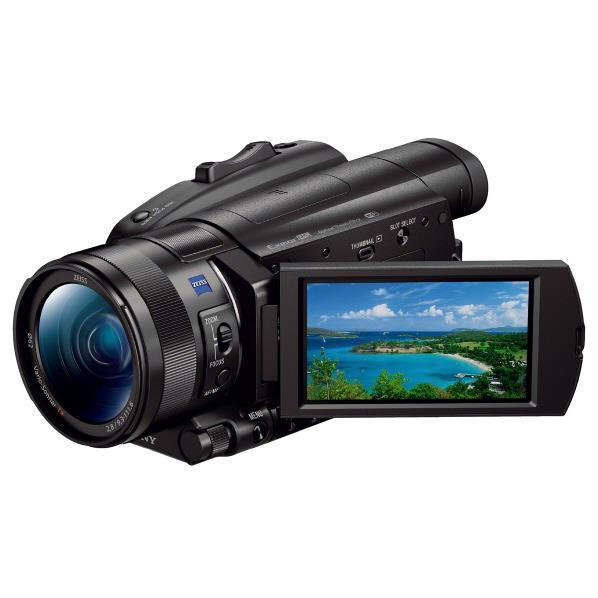 SONY デジタル4Kビデオカメラレコーダー ブラック FDR-AX700 [FDRAX700]【RNH】