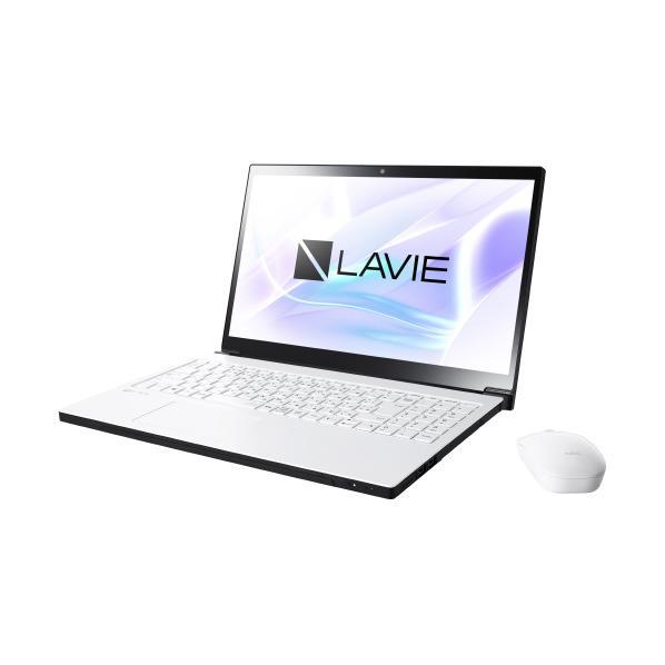 【送料無料】NEC ノートパソコン KuaL グレイスホワイト PC-NX850JAW-E3 [PCNX850JAWE3]【RNH】