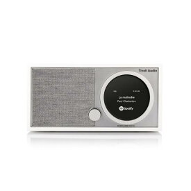 Tivoli Audio テーブルラジオスピーカー Model One ホワイト/グレー MOD-1748-JP [MOD1748JP]【FOFP】