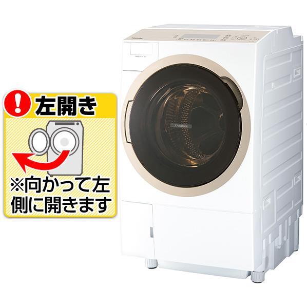 【送料無料】東芝 【左開き】11.0kgドラム式洗濯乾燥機 ZABOON グランホワイト TW-117A6L(W) [TW117A6LW]【RNH】