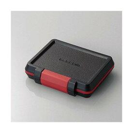 エレコム SD/microSDカードケース(耐衝撃) ブラック CMC-SDCHD01BK [CMCSDCHD01BK]