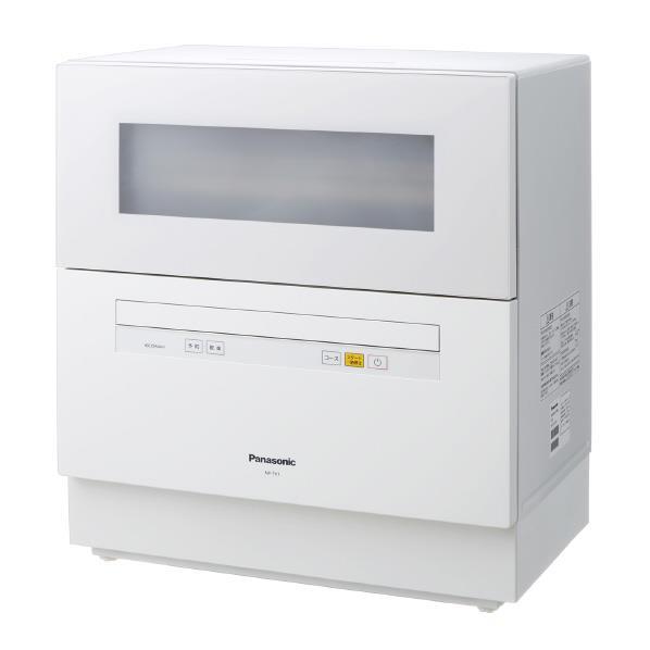 【送料無料】パナソニック 食器洗い乾燥機 ホワイト NP-TH1-W [NPTH1W]【RNH】
