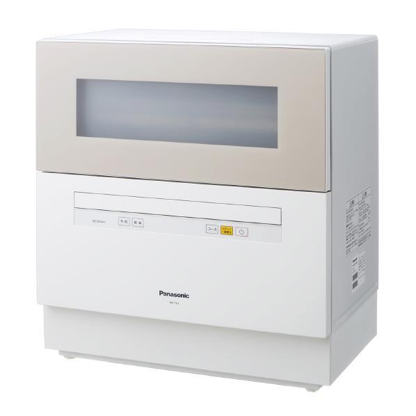 【送料無料】パナソニック 食器洗い乾燥機 ベージュ NP-TH1-C [NPTH1C]【RNH】
