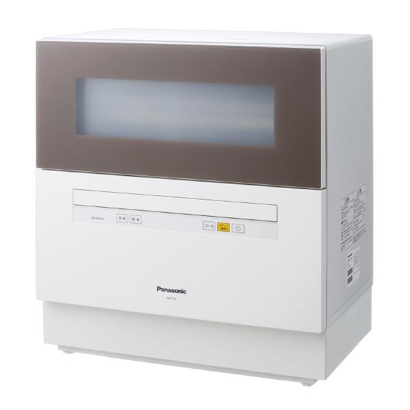 【送料無料】パナソニック 食器洗い乾燥機 ブラウン NP-TH1-T [NPTH1T]【RNH】