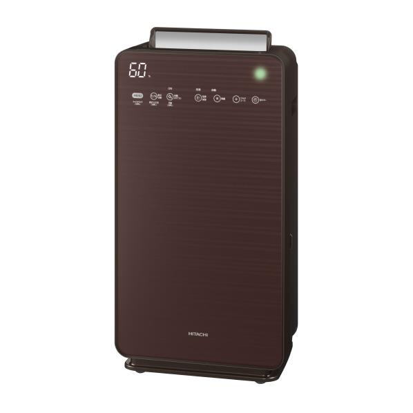 日立 加湿空気清浄機 自動おそうじ クリエア ブラウン EP-NVG110T [EPNVG110T]【RNH】