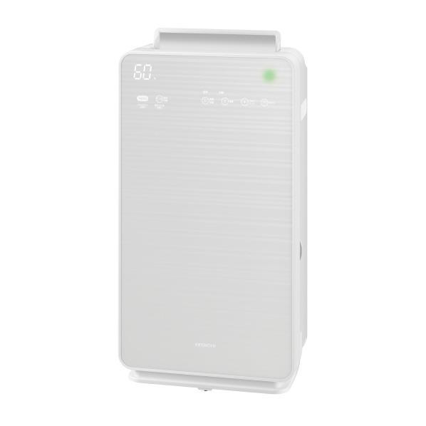 【送料無料】日立 加湿空気清浄機 ステンレス・クリーン クリエア パールホワイト EP-NVG70W [EPNVG70W]【RNH】