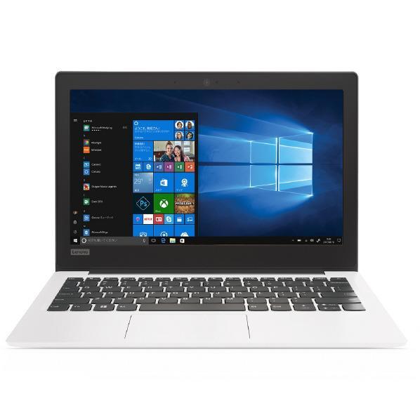 【送料無料】レノボ 11.6型モバイルノートパソコン ideapad 120S ホワイト 81A400B6JP [81A400B6JP]【RNH】