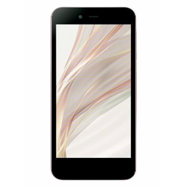【送料無料】シャープ SIMフリースマートフォン AQUOS ゴールド SHM05N [SHM05N]