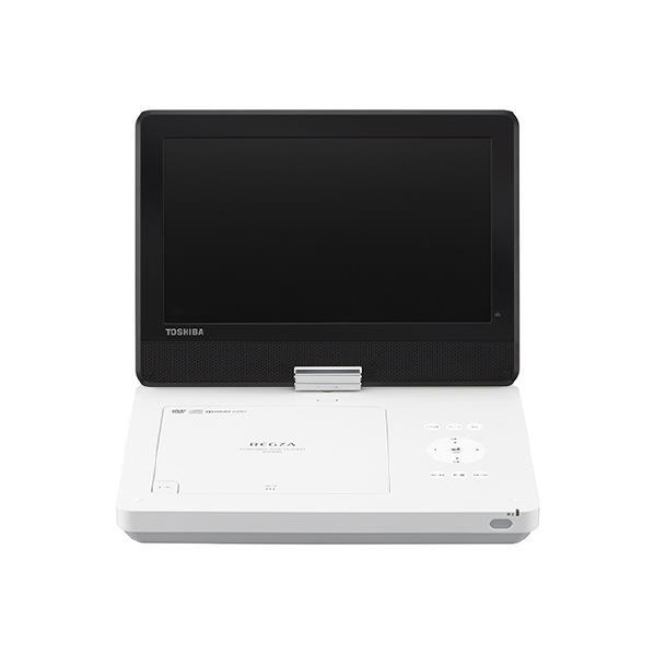 東芝 10.0Vノート型DVDポータブルプレイヤー レグザ ホワイト SD-P1010S [SDP1010S]【KK9N0D18P】【RNH】【SYBN】