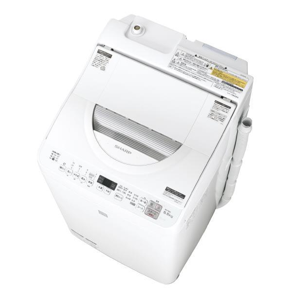 【送料無料】シャープ 5.5kg洗濯乾燥機 keyword キーワードホワイト EST5E5KW [EST5E5KW]【RNH】【WEDT】【BOPT】