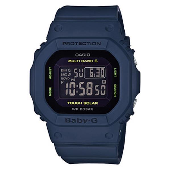 カシオ ソーラー電波腕時計 BABY-G ブルー BGD-5000-2JF [BGD50002JF]
