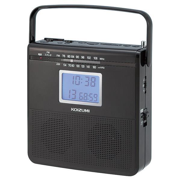 KOIZUMI CDラジオ ブラック SAD4703K [SAD4703K]【RNH】