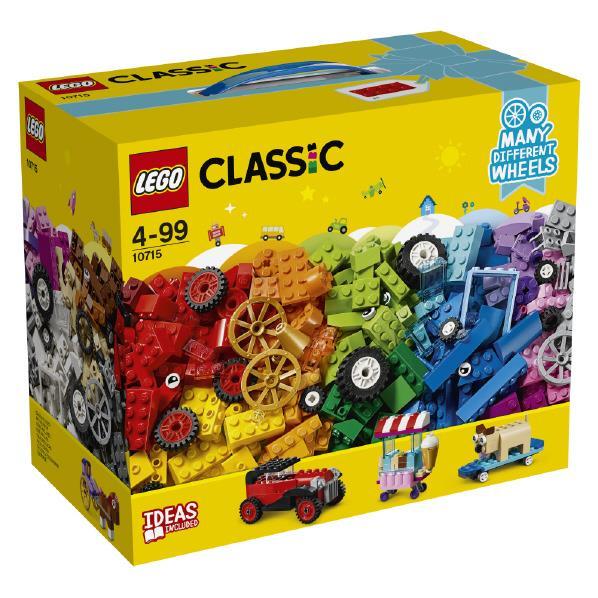 レゴジャパン LEGO クラシック 10715 アイデアパーツ<タイヤセット> 10715アイデアパ-ツタイヤセツト [10715アイデアパ-ツタイヤセツト]