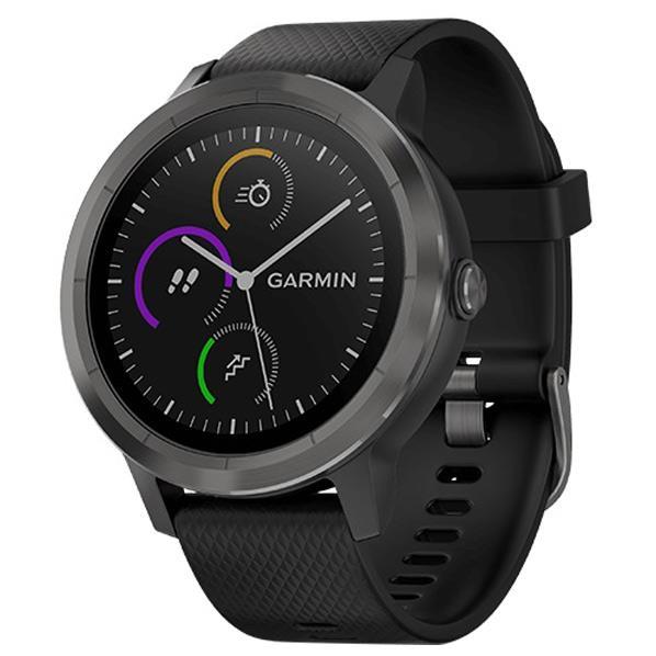 【送料無料】GARMIN GPSスマートウォッチ vivoactive 3 Black Slate 010-01769-71 [0100176971]