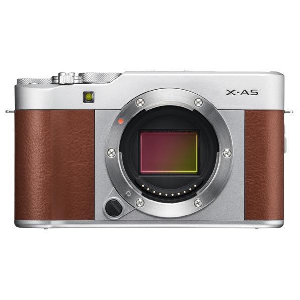 富士フイルム デジタル一眼カメラ・ボディ X-A5 ブラウン FXA5BW [FXA5BW]【RNH】