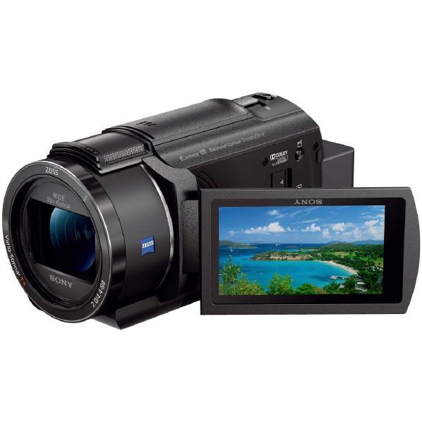SONY 64GB内蔵メモリー デジタル4Kビデオカメラ ハンディカム ブラック FDR-AX45 B [FDRAX45B]【RNH】【NOZSH】