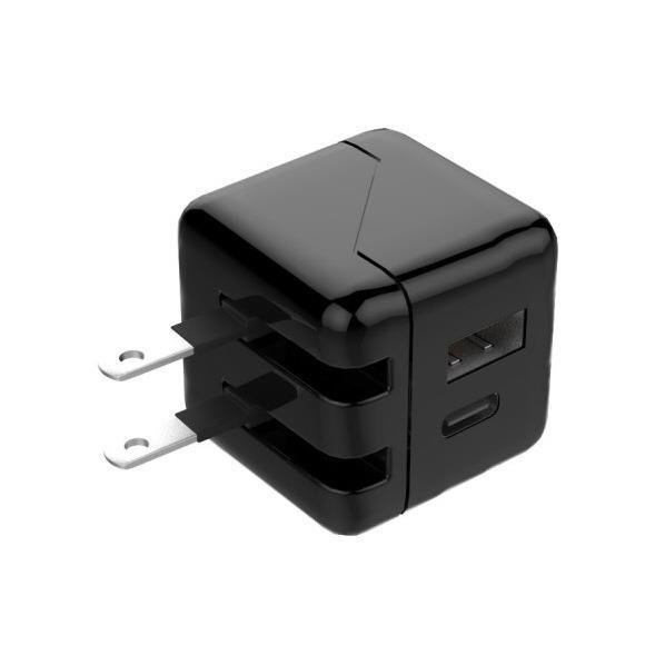 エアリア ACアダプター ブラック USBAC24A-BK [USBAC24ABK]