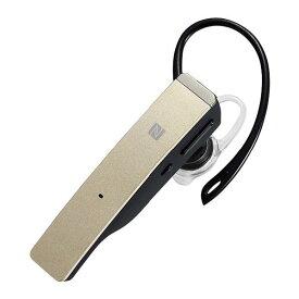BUFFALO Bluetooth 4.1対応 片耳ヘッドセット ゴールド BSHSBE500GD [BSHSBE500GD]【RNH】【MMPT】