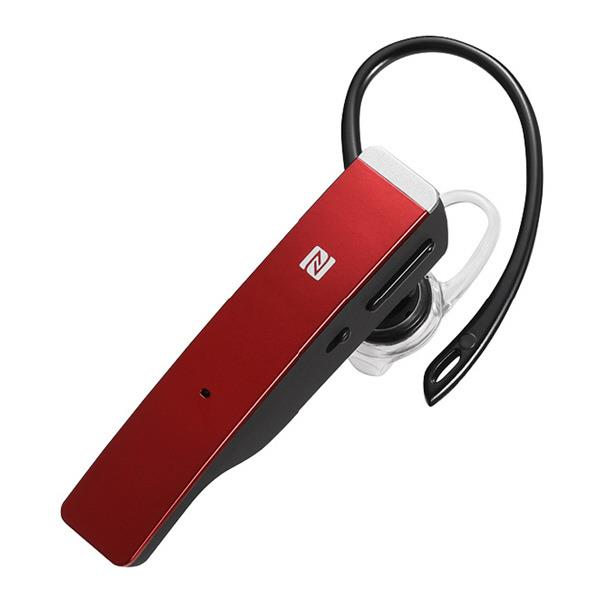 BUFFALO Bluetooth 4.1対応 片耳ヘッドセット レッド BSHSBE500RD [BSHSBE500RD]【RNH】