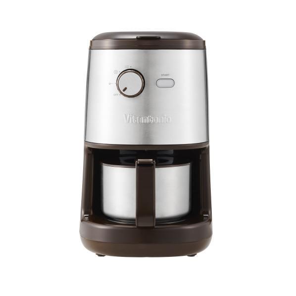 【送料無料】ビタントニオ コーヒーメーカー Vitantonio ブラウン VCD-200-B [VCD200B]