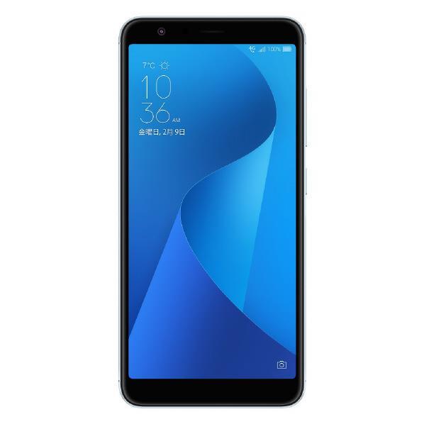 【送料無料】ASUS SIMフリースマートフォン ZenFone Max Plus M1 アズールシルバー ZB570TL-SL32S4 [ZB570TLSL32S4]