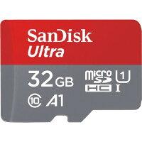 サンディスクウルトラmicroSDUHS-Iカード(32GB)SDSQUAC-032G-JN3MA