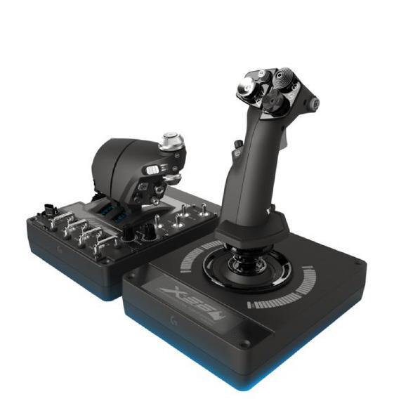 ロジクール シミュレーションコントローラ X56 HOTAS ブラック G-X56R [GX56R]