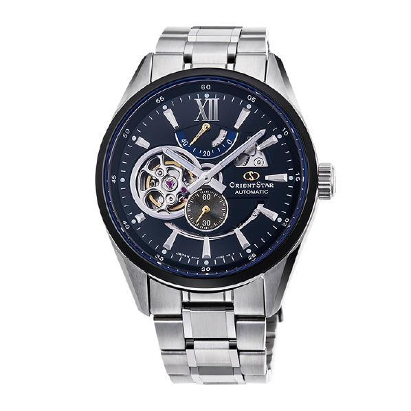 【送料無料】オリエント 腕時計 ORIENTSTAR SEMI SKELETON ブラック RK-DK0003B [RKDK0003B]